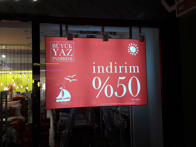 Led Çerceve Lightbox